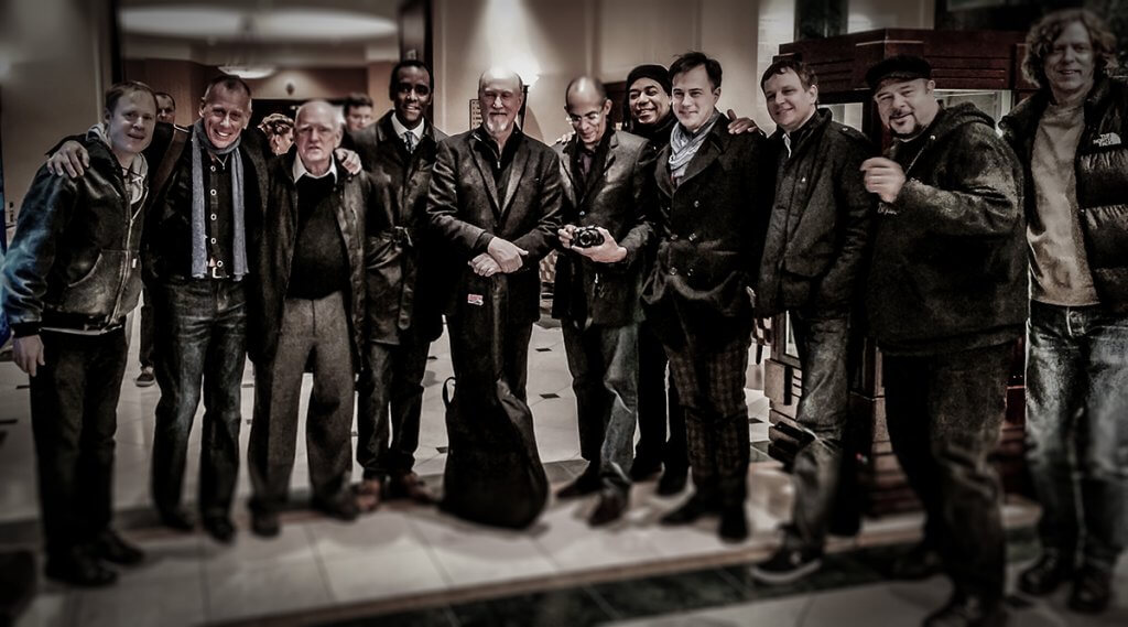Joe Locke, Ernesto Simpson, John Scofield, Danny Grissett, Darryl Hall, Adam Nussbaum