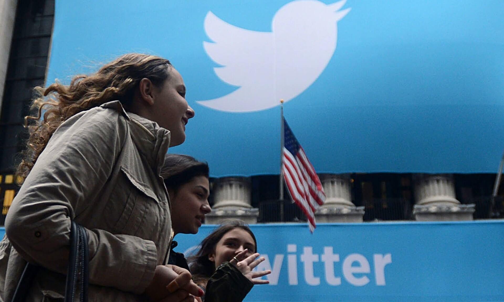 female Twitter staff