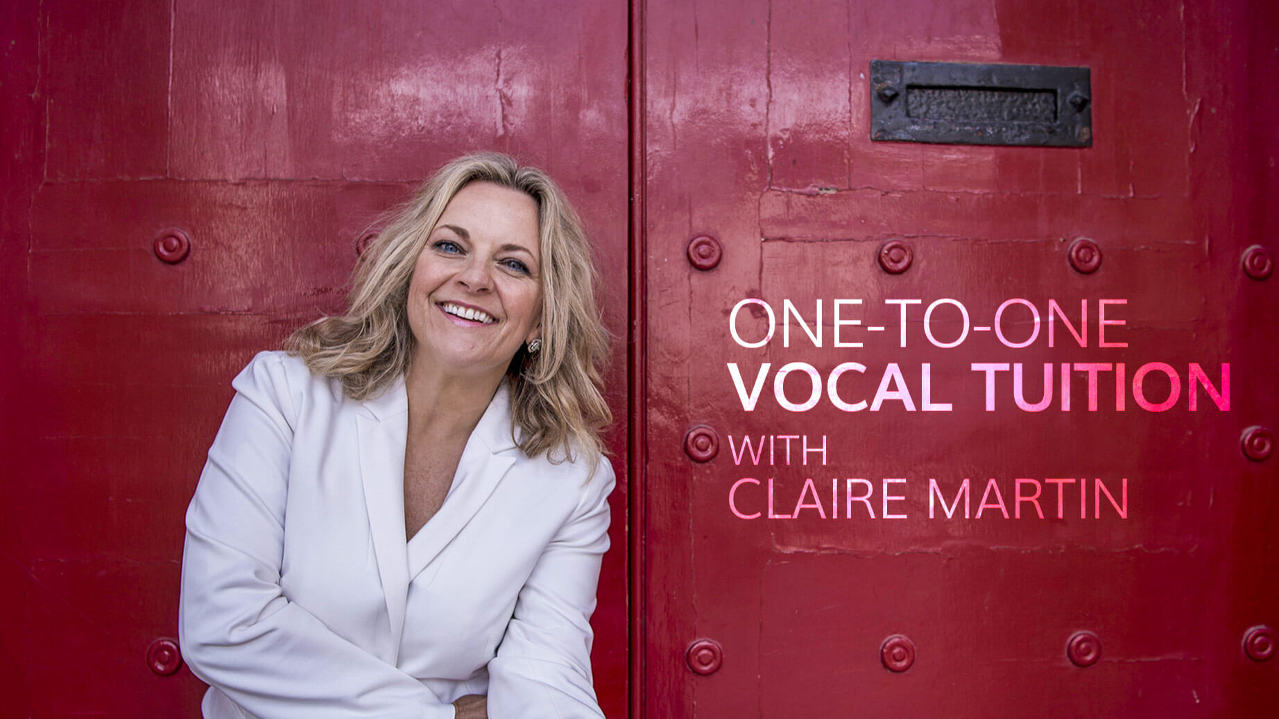Claire Martin - singing lessons (promo)