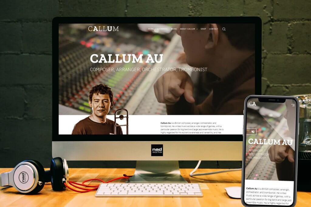 Callum Au website