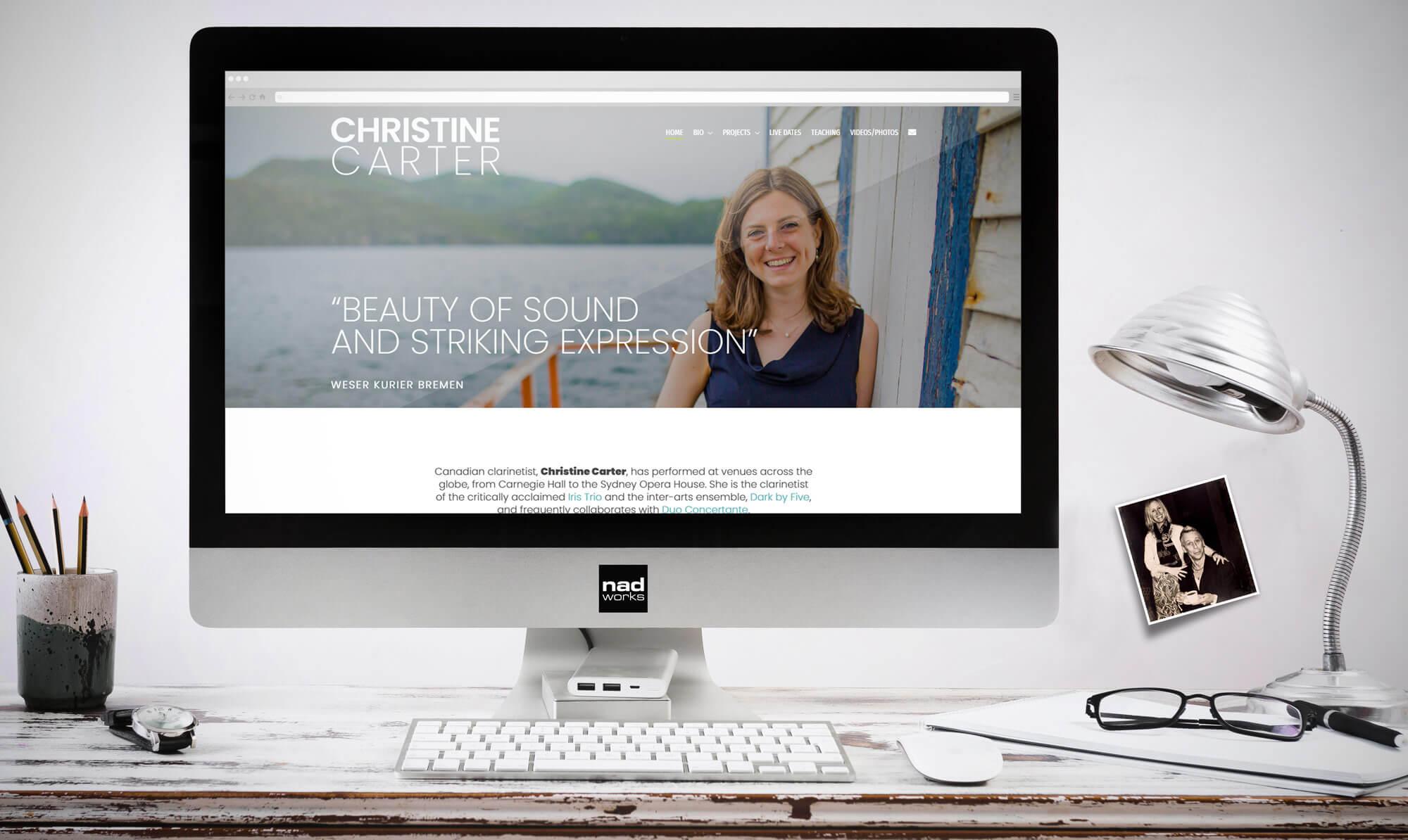 Christine Carter - website