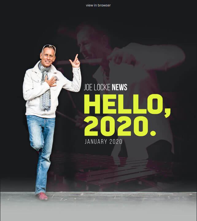 Joe Locke - January 2020