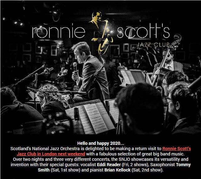SNJO at Ronnie Scott's