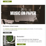 Joe Locke Music Store eNewsletter